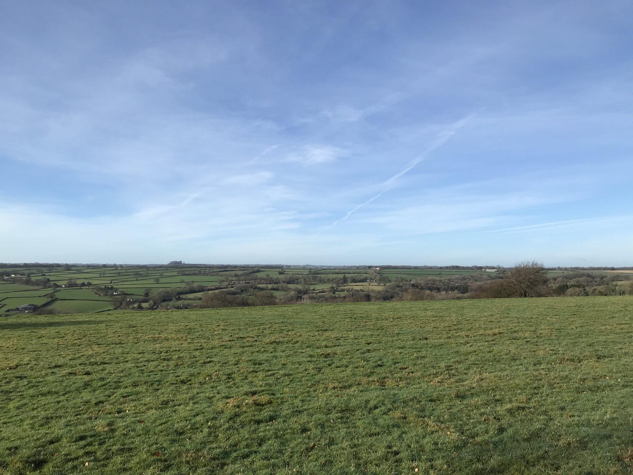 Royal Oak Farm Devon views