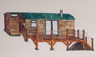 Royal Oak Farm stargazing cabin